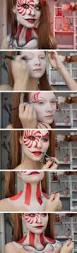 Super Scary Halloween Costumes Girls 25 Clown Makeup Ideas Harlequin Makeup
