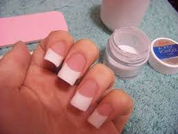 chloe beauty nyc tutorial permanent french acrylic tips