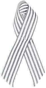 black and white striped ribbon file black and white longitudinally striped awareness ribbon jpg