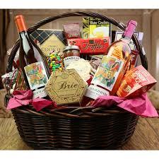 wine gift basket emerald hare gift basket executive