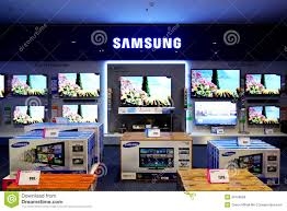 display tv samsung television smart tv editorial stock photo image of prices