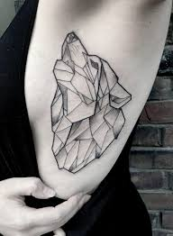 tattoo wolf geometric side tattoo tattoo for women animals wild