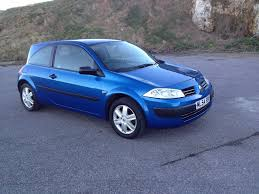 renault megane 2004 blue renault megane 1 4 2004 auto images and specification