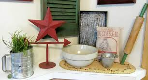 organized clutter a new vintage kitchen vignette