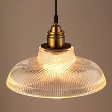 loft vintage antique industrial glass pendant ceiling light retro