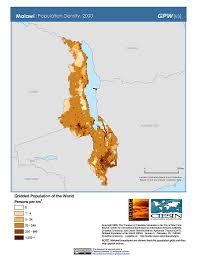 Malawi Map Map Gallery Sedac