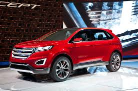 ford edge concept first look truck trend
