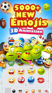animated emoticons for android 5000 emoji new 3d animated emoticons keyboard free ios