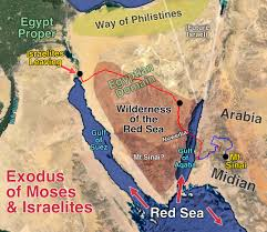 Exodus Route Map by Red Sea Crossing Discovered Artifacts U0026 Evidence Bible