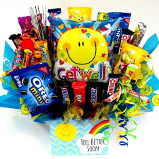 get well soon gift basket get well soon candy gifts