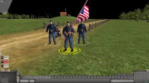 Yankee Flags Union Soldiers With Flag Image American Civil War Mod For Men Of