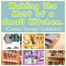 clever storage ideas for small kitchens the most of a small kitchen ingenious storage ideas