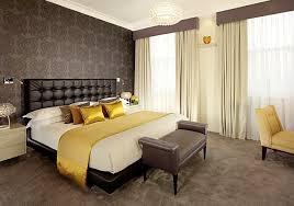 chambre a coucher originale papier peint chambre a coucher adulte idee originale couleur marron
