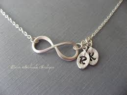 mothers day jewelry personalized personalized infinity necklace initial infinity choker