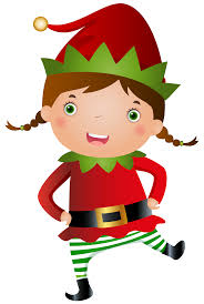 christmas elves background new year info 2018