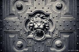 lion door knocker lion door knocker photograph prints by adam