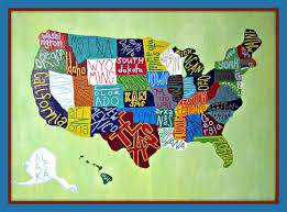 us map for sale modern mountain momma map of the united states