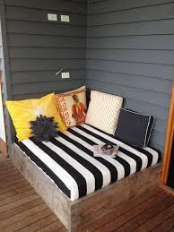 Wooden Outdoor Daybed Furniture - diy outdoor daybed for bottom deck click image to find more diy