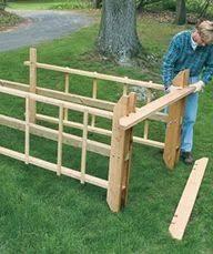 Simple Trellis Ideas Diy Step By Step Handmade Wood Trellis For Grapevines Tutorial