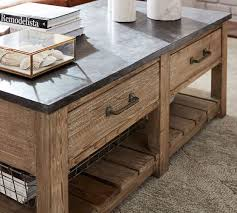 Reclaimed Wood Console Table Pottery Barn Parker Reclaimed Wood Coffee Table Pottery Barn