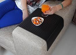 couch arm coffee table amazon com sofa tray table super black v2 sofa arm tray sofa