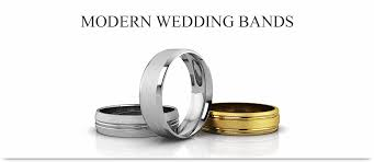 wedding bands for modern design wedding bands for men and women
