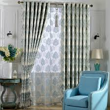 Black Out Curtain Fabric Decorative Thick Fabric Full Blackout Curtain For Bedroom Room