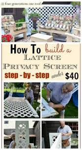 Screen Ideas For Backyard Privacy 17 Privacy Screen Ideas That U0027ll Keep Your Neighbors From Snooping