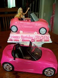 barbie cars with back seats barbie cakes party fit for a princess pinterest cake