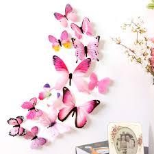 Butterfly Home Decor Aliexpress Com Buy 3d Diy Wall Sticker Stickers Butterfly Home
