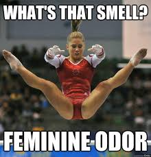 Shawn Meme - what s that smell feminine odor shawn johnson scared quickmeme