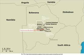 africa map kalahari botswana and the plight of the san bushmen geocurrents