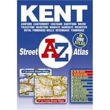 Essex County Map Paper Laminated A Z Kent Street Atlas By Geographers U0027 A Z Map Company Road Maps