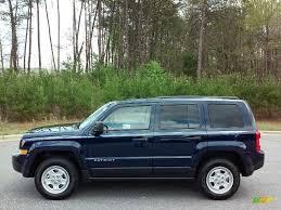 silver jeep patriot 2016 2016 true blue pearl jeep patriot sport 112208305 gtcarlot com