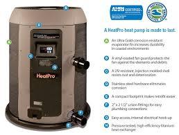 hayward hp50ta pool heat pump 50 000 btu