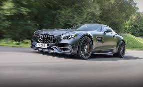 2018 mercedes amg gt c coupe first drive review car and driver