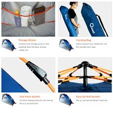 Canopy Storage Shelter by Qwest Instant Half Dome Beach Tent Canopy Shelter Sun Portable