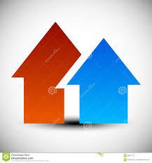Hous 象 商标 与2重叠的房子形状 简单hous的标志向量例证 图片 85641713