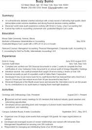 Resume Samples For College Student by A Super Effective College Student Resume Sample And Tips Mindsumo