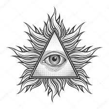 why is the all seeing eye in a triangle quora