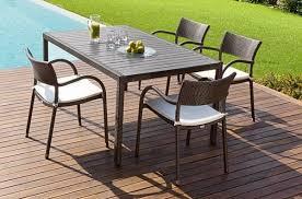 tavoli da giardino rattan tavolo da giardino rettangolare greenfield papaya roberti rattan