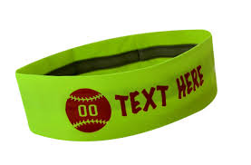 softball headbands silicone lined headbands