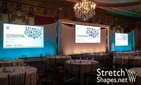 custom photo backdrop projection screens custom backdrop stretch shapes