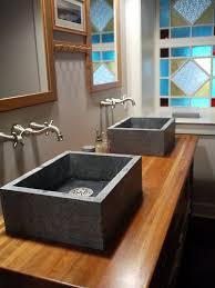 quartz composite sink bathroom ideas houzz