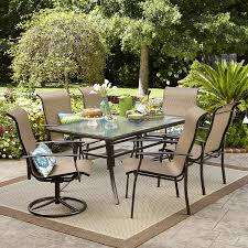 7 Piece Aluminum Patio Dining Set - garden oasis harrison 7 piece dining set shop your way online