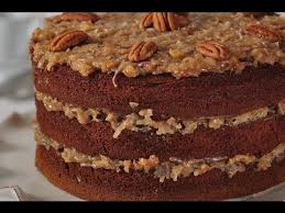 german chocolate cake recipe demonstration joyofbaking com youtube