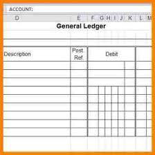 10 general ledger bookkeeping template ledger entries