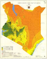 Climate Map Rain Stimulation In East Africa