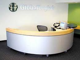 Global Reception Desk Custom Reception Desk Made For Global English By Miesner Design