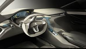 peugeot quartz interior interior of peugeot hr1 concept car car interiors pinterest